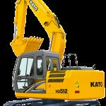 Ekskavator Kato HD512-R5