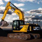 Excavator JS 220LC JCB